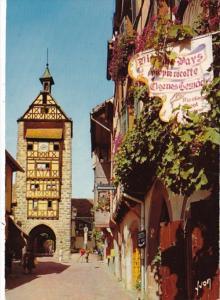 France Riquewihr Dans le Vignoble Alsacien 1973