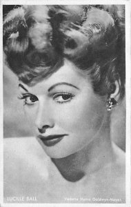 Lucille Ball Trade Card, Actress, Movie Star Unused light internal crease