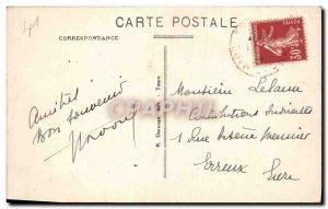 Old Postcard Montrichard Vue Generale