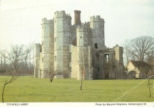 England Postcard Titchfield Abbey medieval architecture