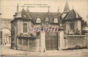 Old Postcard Besancon The Archeveche