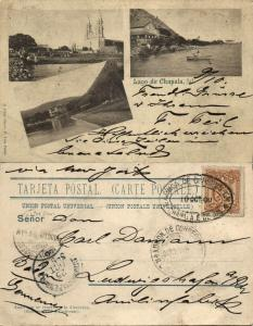 mexico, Jalisco, Lago de Chapala (1904) Libro Mayor Postcard