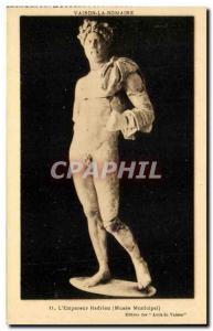 Old Postcard Vaison La Romaine The Emperor Hadrian Musee municipal