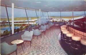 Cocktail Bar Wilbur Clark Desert Inn Las Vegas Nevada 1940s Roberts 5141