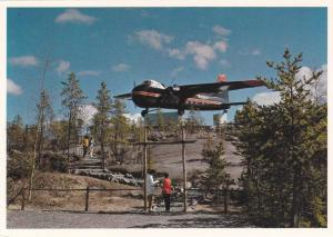 Bristol Monument , Airport , Yellowknife , N.W.T. , Canada , 50-70s (4by6 ver...