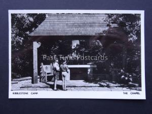 Youth Scout Camp KIBBLESTONE CAMP The Chapel Staffordshire c1970's RP Postcard