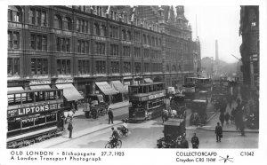 Old London Bishopsgate Collectorcard Croydon Postcard