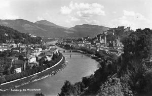 Austria - Salzburg. The Mozartstadt - RPPC