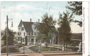 Concord, NH - Pleasant View, Home of Rev. Mary Baker - 1906