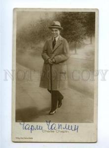 152140 Charlie CHAPLIN English comic MOVIE actor Vintage PHOTO