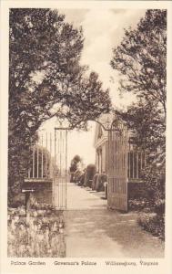 Palace Garden Governor's Palace Williamsburg Virginia Albertype