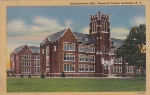 New York Rochester Administration Building Nazareth College Curteich
