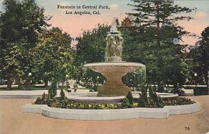Fountain in Central Park, Los Angeles, California, 00-10s