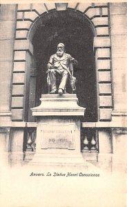 La Statue Henri Consicene Anvers Belgium Unused