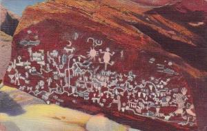 Indian Newspaper Rock Petrified Forest Arizona