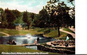 Connecticut Meriden Cascade Play Grounds Mirror Lake