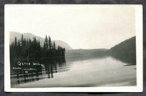 937 - CULTUS LAKE BC 1920s Real Photo Postcard by Wilson