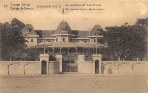 G58/ Africa RPPC Postcard French Congo Elisabethville Residence 1