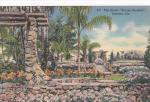 Florida Palatka Scenic Ravine Gardens Curteich