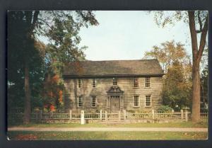 Stockbridge, Mass/MA Postcard, Stockbridge Mission House
