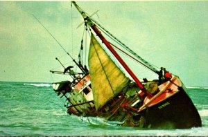 Massachusetts Cape Cod National Seashore Gloucester Dragger Ramonde Shipwreck