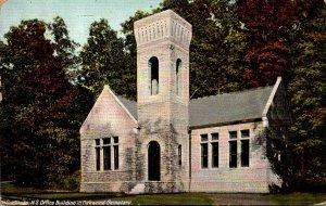 New York Syracuse Office Building In Oakwood Cemetery 1910