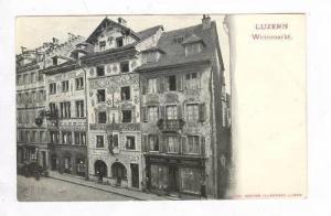 Storefronts / Weinmarkt,Lucerne,Switzerland Pre 1908