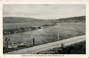 NH - Hinsdale. Connecticut River from Brattleboro Road
