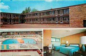 MI, Big Rapids, Michigan, Big Rapids Motel, Multi View, Dexter Press No. 28183-C