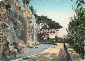 Modern Postcard The French Riviera Nice Cascade du Chateau