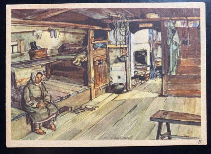 Mint Picture Postcard Germany WW2 Soviet Culture