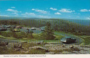 Maine Acadia National Park Summit Of Cadillac Mountain