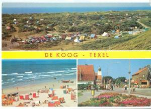 Holland, Netherlands, De Koog, Texel, 1988 used Postcard
