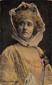 Bexel-on-Sea** UK~Miss Winifred Emery~Beauty & Beast~Theatre Stage Actress~1907