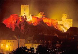 Luxembourg Esch sur Sure, Les Illuminations du Chateau Castle