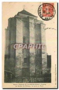 Old Postcard Spa La Roche Posay Vienne Le Chateau du Donjon