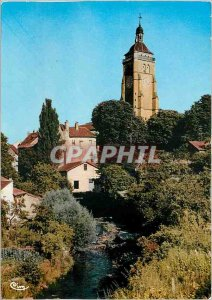 Modern Postcard Arbois L'Eglise St Just and Cuisanee