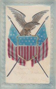Eagle & Flags , USA , 00-10s ; PFB 8461