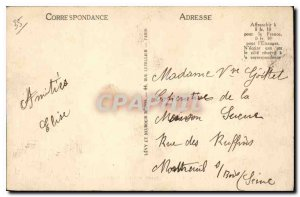 Old Postcard Saint Malo Saint Vincent Saint Vincent Battery Battery