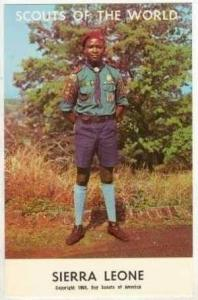 Scouts Of The World, Sierra Leone, 1968