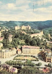 Czech Republic, KARLOVY VARY, Spa, Imperial Hotel, 1967 used Postcard