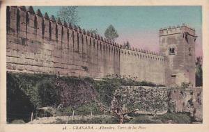 Alhambra, Torre De Los Pico, Granada (Andalucia), Spain, 1910-1920s