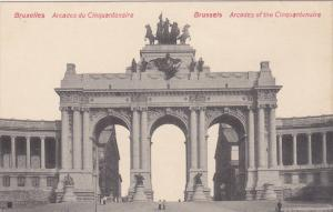 Arcades Of The Cinquantenaire, BRUSSELS, Belgium, 1900-1910s