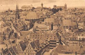 Nuernberg Panorama vom Lorenzkirchturm aus General view