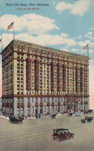 Hotel De Soto , New Orleans , Louisiana , PU-1920