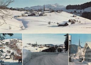 Switzerland, Suisse, Kurort SCHWELLBRUNN, 972 m, mit Santis, 1974 used Postcard