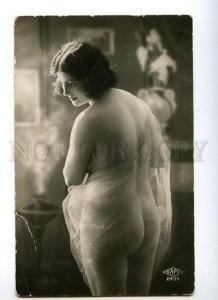 128992 NUDE Woman BELLE Vintage Real PHOTO SAPI #2434 PC
