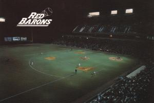 First Pitch - Opening Day April 26, 1989 ; Lackawanna County Baseball Stadium...