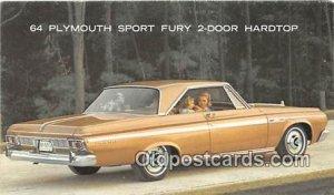 64 Plymouth Sport Fury 2 Door Hardtop Auto, Car Unused