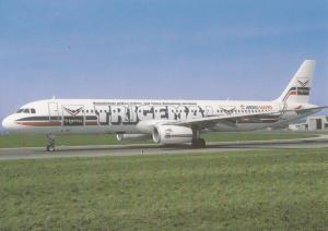 TRIGEMA, Airbus A 321, unused Postcard